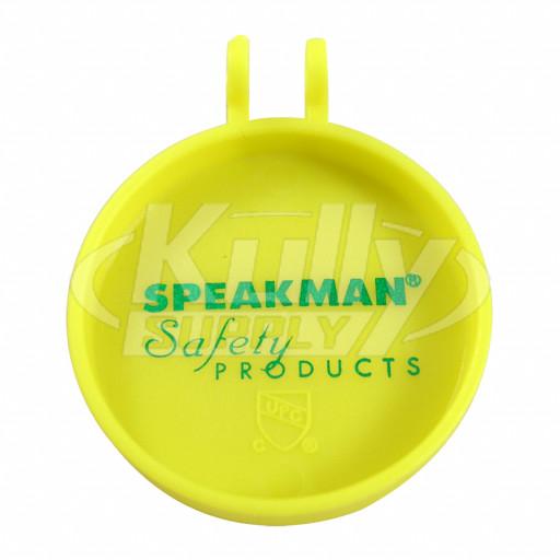 Speakman Rpg07 0104 Eyewash Flip Top Dust Cover Yellow 1