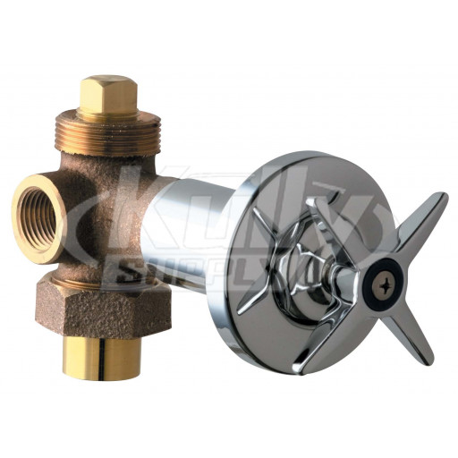 Chicago 769-COLDCP Concealed Angle Bypass Valve (Discontinued)