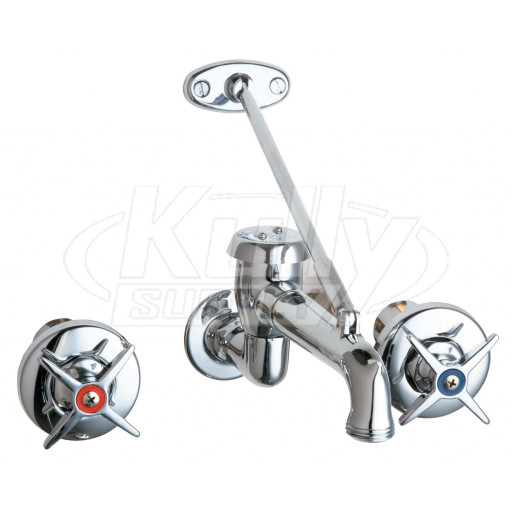 Chicago 782 Vbcp Wall Mounted Concealed Faucet