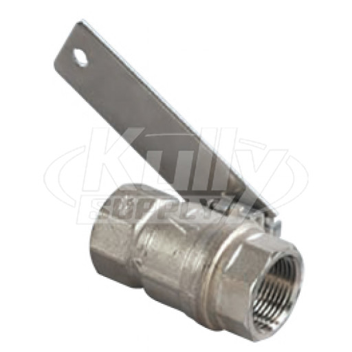 Bradley S30 059 1 Quot Drench Shower Ball Valve Kullysupply Com