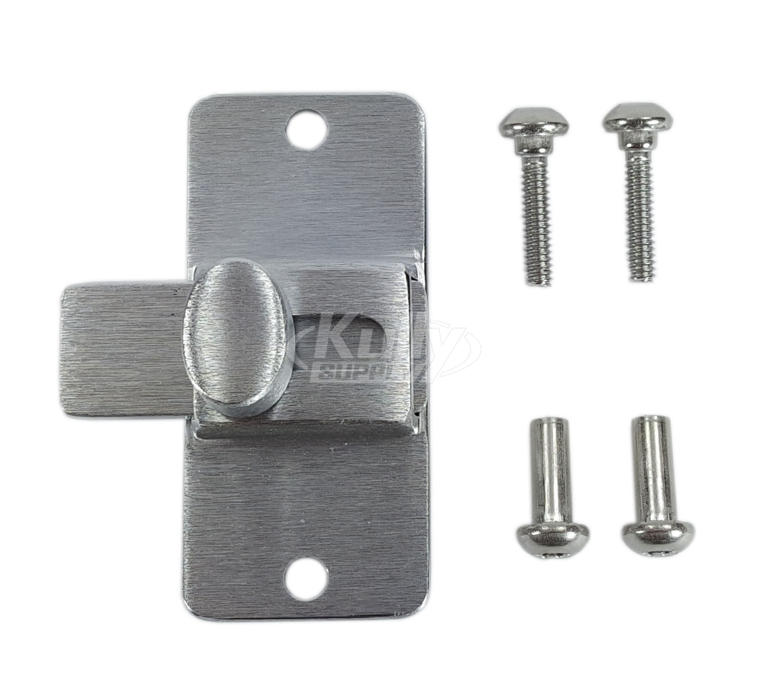 Accurate Toilet Partition HAP Cast Stainless Steel Slide Bolt - Bathroom partition slide latch