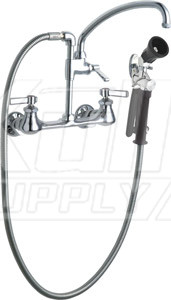 Chicago 509-GCLABCP Pre-Rinse Fitting with 613-A Adapta-Faucet