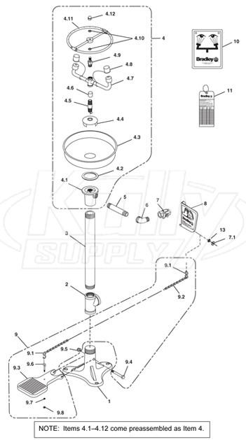 Bradley S19 210ss Breakdown Kullysupply Com