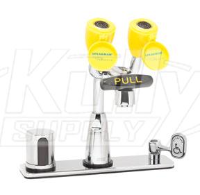 Speakman Sef 1816 Battery Operated Faucet Mounted Eyewash