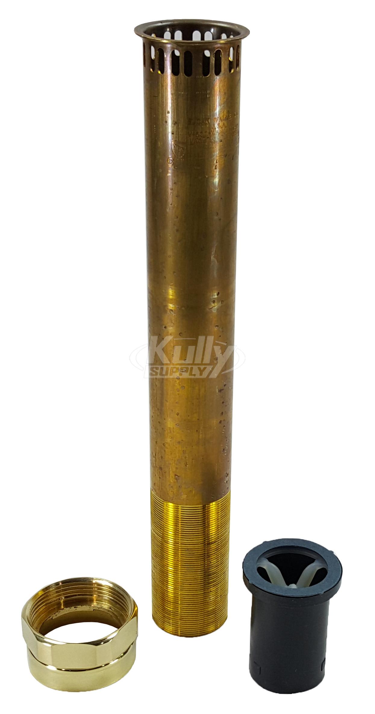 Sloan V 500 Aa Rough Brass Vacuum Breaker 1 1 2 X 22 Kullysupply Com