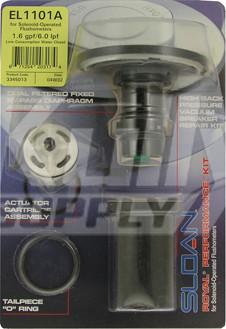 Sloan El 1101 A Solenoid Performance Repair Kit 1 6 Gpf