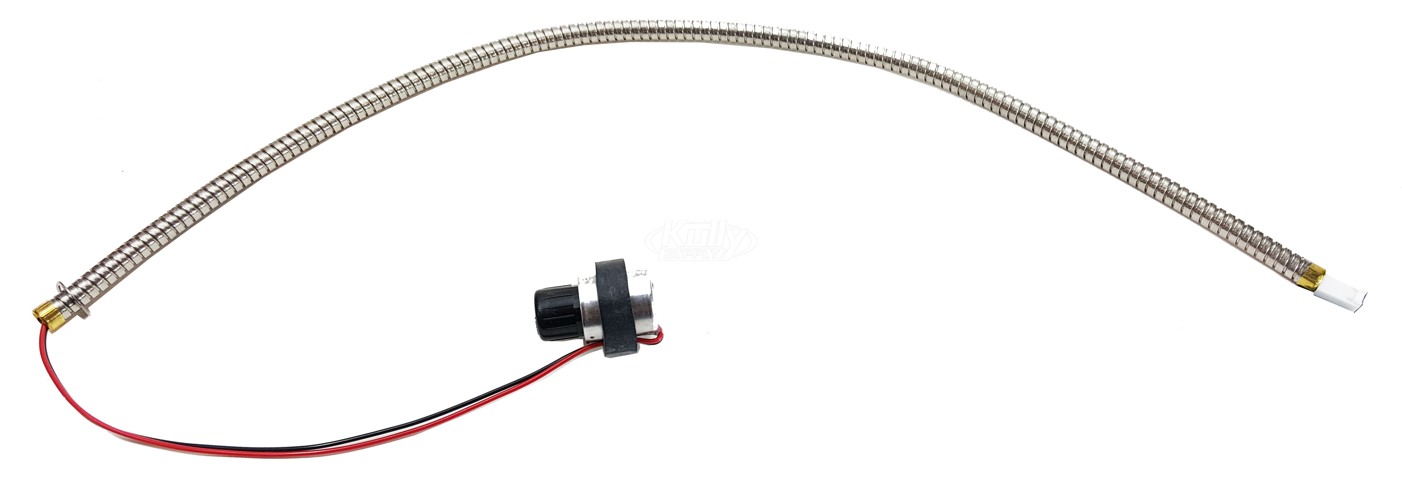 Sloan ETF-742-A Solenoid With Armored Cable Wire Only | KullySupply.com
