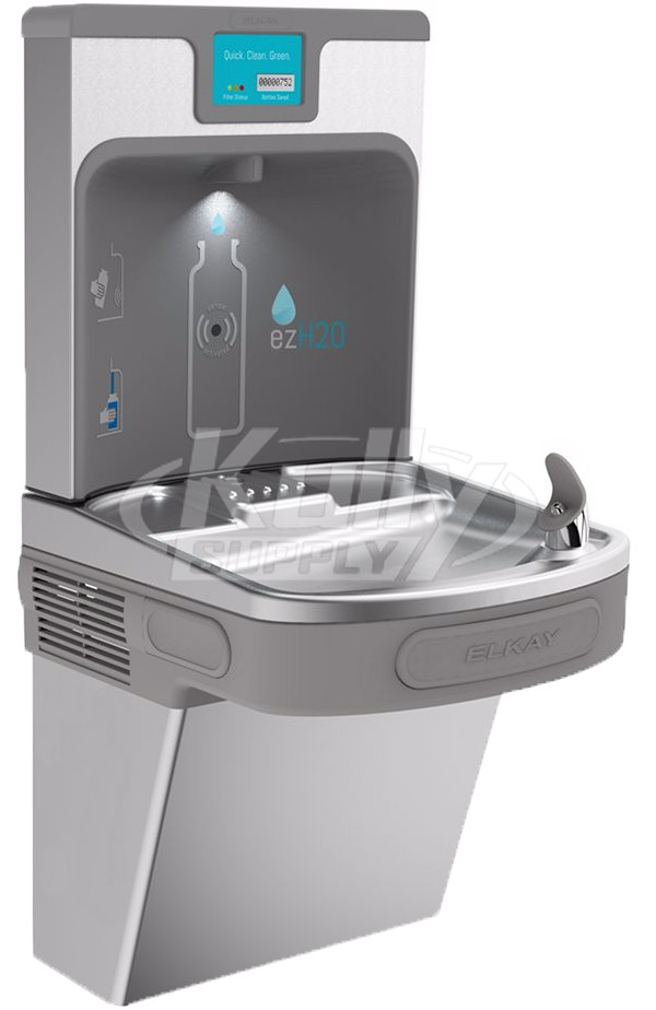 Elkay Enhanced Ezh2o Lzs8wssp Filtered Stainless Steel