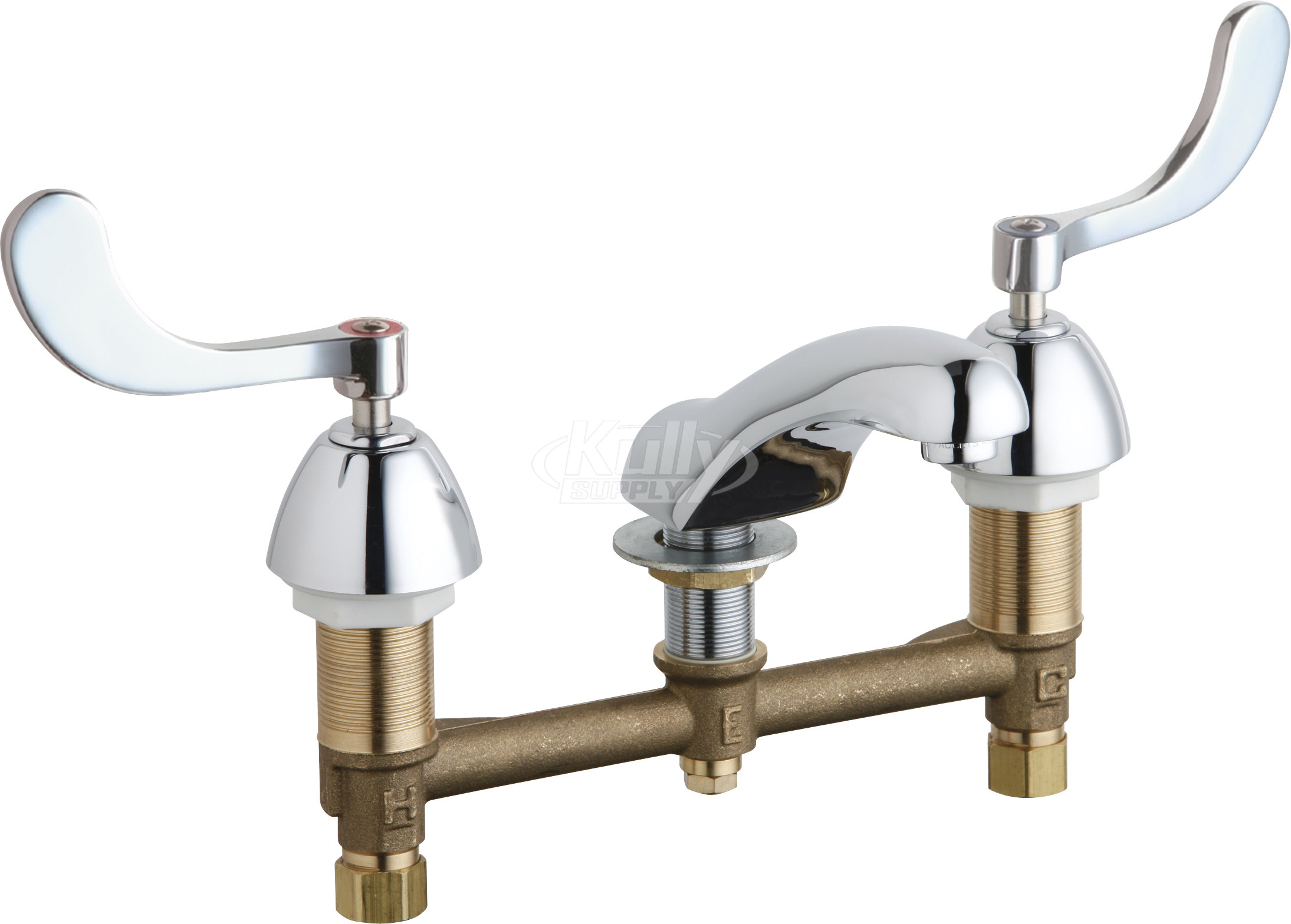 Chicago 404 317xkabcp Concealed Hot And Cold Water Sink