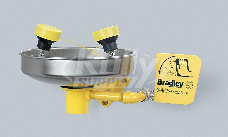 Bradley S19 220t Eye Face Wash With Wall Bracket And