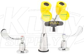 Speakman Sef 1800 Faucet Mounted Eyewash Kullysupply Com