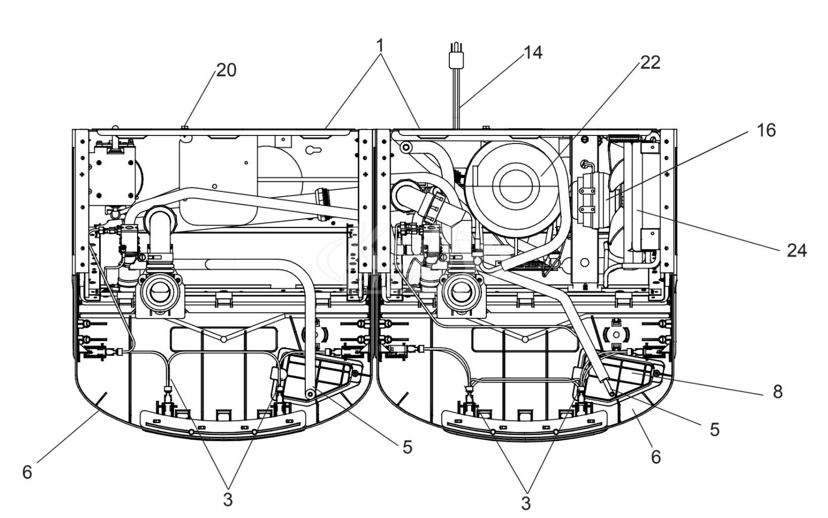 Elkay Enlzstl8ws1f Breakdown Wiring Diagram