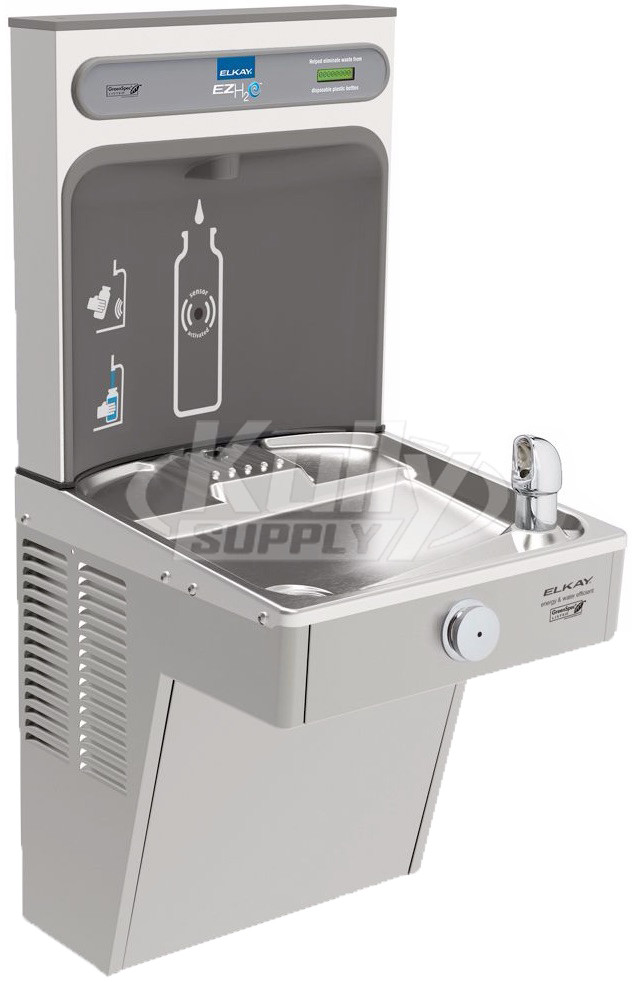 Elkay EZH2O VRCGRN8WSK GreenSpec Vandal-Resistant Drinking Fountain with  Bottle Filler