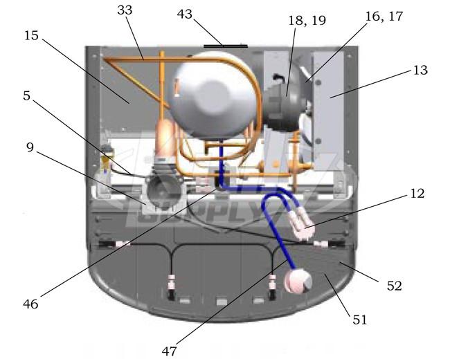 Elkay Ezf S A Drinking Fountain Parts Breakdown