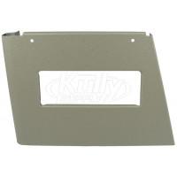 Elkay 22946C Right Side Panel Grey Beige w/ Handle Hole