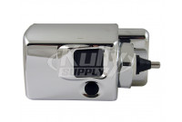 Sloan EBV-89A-M Side-Mounted Flushometer Operator (with Metal Cover)