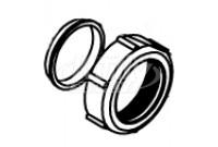 Zurn P5795-6 Ferrule Nut & Ferrule (Discontinued)