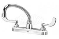 "Zurn Z871J4-XL AquaSpec 8"" Center Deck Mount Faucet"