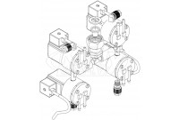 Intersan SF4SET9 Sanifount 4-User Manifold (Discontinued)