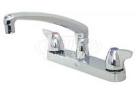 """Zurn Z871G3-XL AquaSpec 8"""" Center Sink Faucet"""