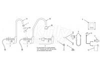 Sloan Optima(R) ETF-500 Faucet Parts Breakdown