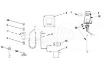 Sloan Optima ETF-610 Faucet Parts Breakdown