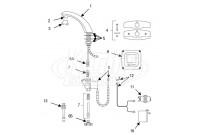 Sloan Optima(R) ETF-80 Faucet Parts Breakdown