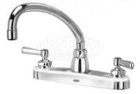 "Zurn Z871J1-XL AquaSpec 8"" Center Deck Mount Faucet"