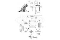 Sloan EBF-650 Faucet (Post 09/2008) Parts Breakdown