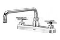 "Zurn Z871H2-XL AquaSpec 8"" Center Deck Mount Faucet"
