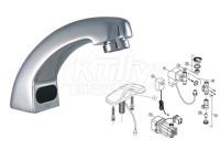 Zurn Z6914 AquaSense Faucet Parts Breakdown