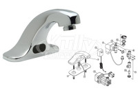 Zurn Z6915 AquaSense Faucet Parts Breakdown