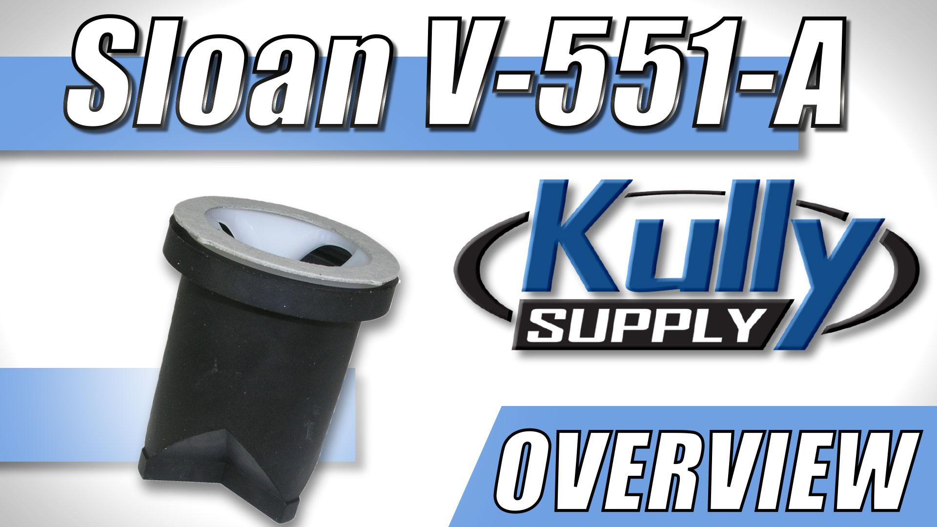 Overview Video: Sloan Vacuum Breaker Repair Kit (V-551-A)