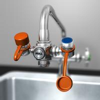Faucet Mounted Eyewash Parts